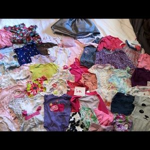 Baby Girl Clothes 6 Months Bundle